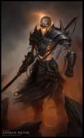 Skelett Warrior by Andimayer