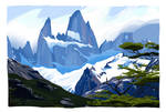 Mont Fitz Roy - Patagonie