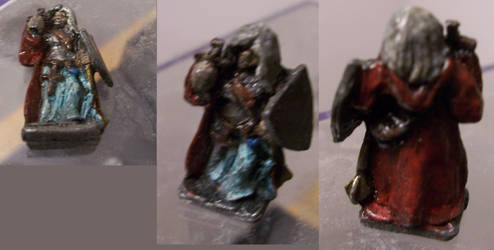 Dungeons and Dragons Miniature Cleric. by ResettisReplicas