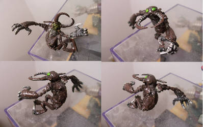 Dungeons and Dragons Miniature Umber Hulk by ResettisReplicas
