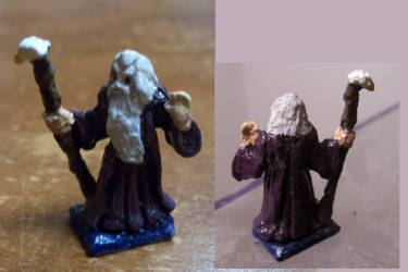 Dungeons and Dragons Miniature Wizard