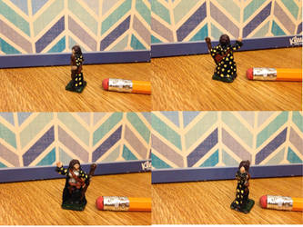 Dungeons and Dragons Miniature Mage