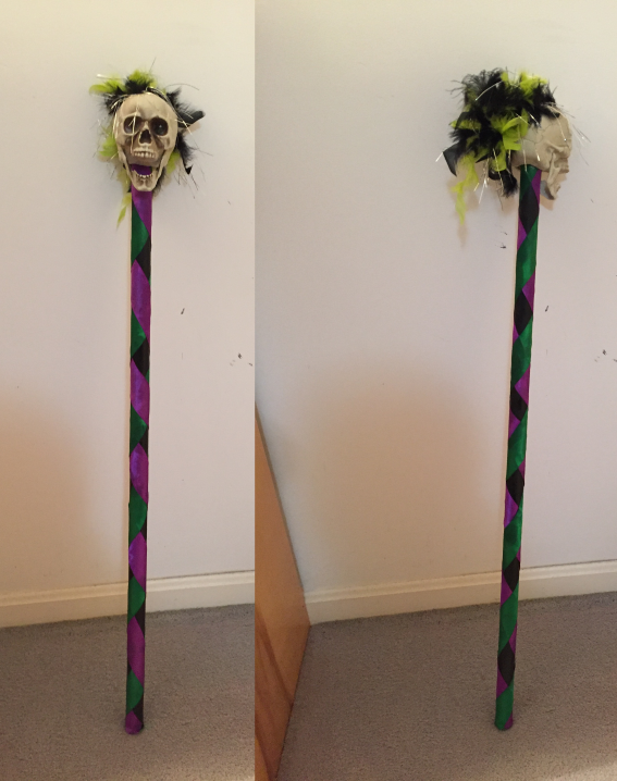 Witch Doctor Staff by ResettisReplicas