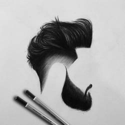 Beard-with-hair-drawing-vkartbox