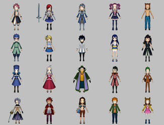 Fairy Tail Magic Ranbu (full) by KittyInHiding