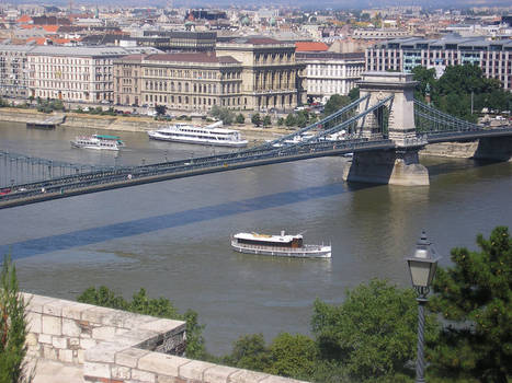 Ship In budapest