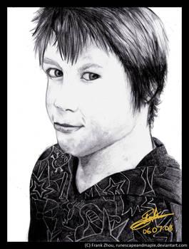 Pencil Portrait : Mason Carr