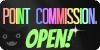 Point Commissions - Open! / Creepy Rainbow Stamp by NotBrookie