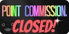 Point Commissions - Closed! / Creepy Rainbow Stamp by NotBrookie
