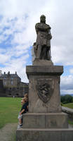 Robert the Bruce and ice cream by Ryoishen