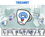 Tazanet, mascot corporate