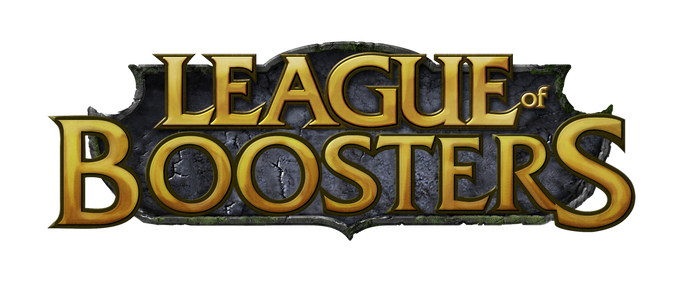 League of boosters logo by Chuache