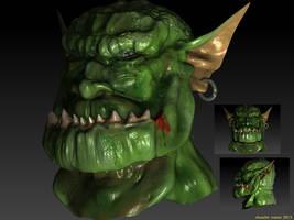 Troll con ZBrush by Chuache