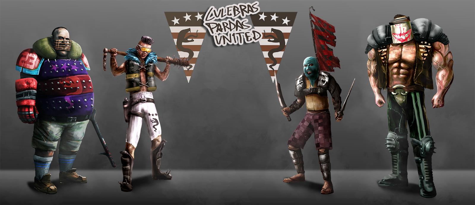 Culebras Pardas United by Ryoishen