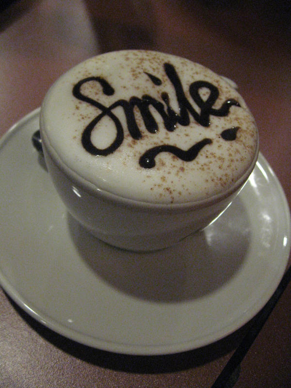 SMILE by dumbcreature