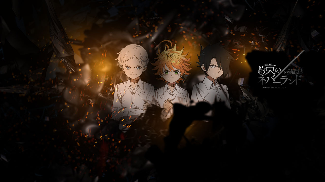 Yakusoku No Neverland Wallpaper By Nimouto On Deviantart