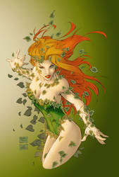 Poison Ivy Coloring by kiarakiller