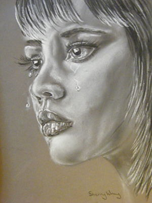 Tears by Sherry-Wray-Studio