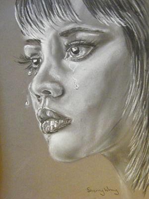 Tears by Sherry-Wray-Studio