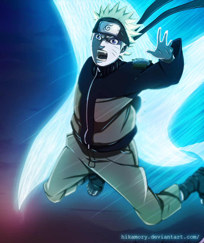 Yamanaka Ino By Rice Su On Deviantart: Naruto_520 Rasen Suriken! By Hikamory On DeviantArt