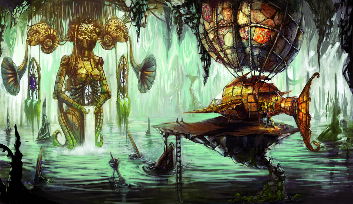 Steampunk Sirens