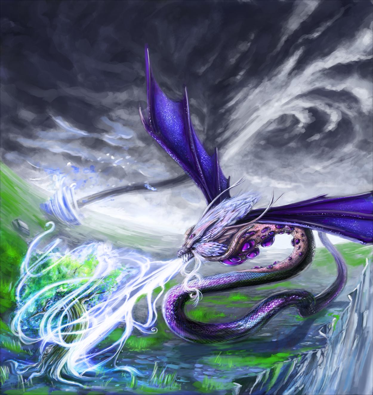 Breath of Life Dragon by CaraKhan on DeviantArt
