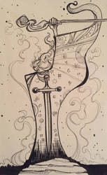 Merlin by CaraKhan