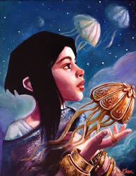 Nadja and the Mechanical Jellyfish