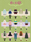 (CLOSED) Casual Outfit adopts 04
