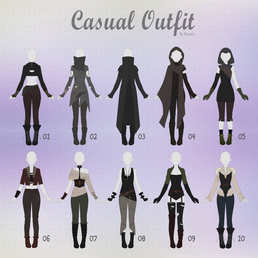 (CLOSED) CASUAL Outfit Adopts 28 by Rosariy on DeviantArt