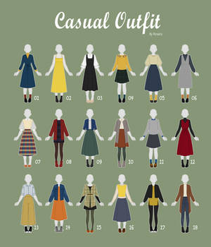 (OPEN 6/18) CASUAL Outfit Adopts 41