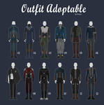 (OPEN 1/12) CASUAL Outfit Adopts 53 [MALE]