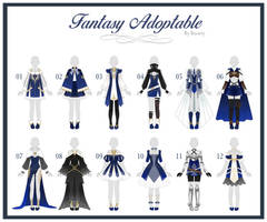 (OPEN 7/12) ADOPTABLE // Fantasy Outfit #38 by Rosariy