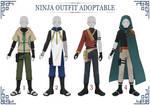(OPEN 2/4) ADOPTABLE // NINJA Outfit #03