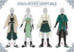 (OPEN 3/4) ADOPTABLE // NINJA Outfit #04