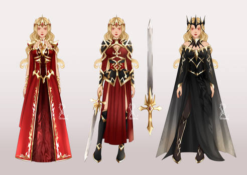 [CM] Alora's Outfits