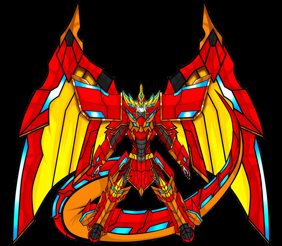 digimon ultimatenovadramon xantibody by dragonnova52 on
