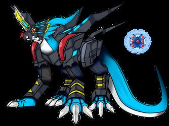 raidramon X-antibody by dragonnova52