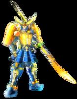 Ultimatenovadramon X gaim mode orange arms by dragonnova52