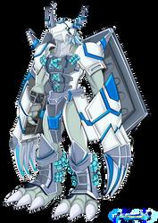 Wargreymon Merciful Mode by dragonnova52