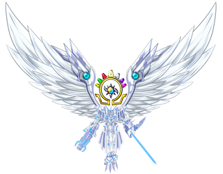 omnimon X mercful mode With Wing by dragonnova52