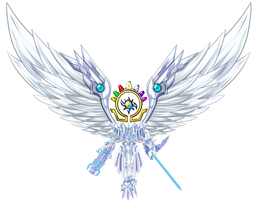 omnimon X mercful mode With Wing