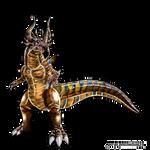 Greymon by dragonnova52