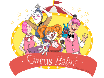 Circus Babys Pizza World_remake by sarah4AMEN