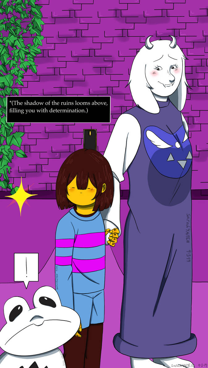 Day 3_Toriel/The Ruins