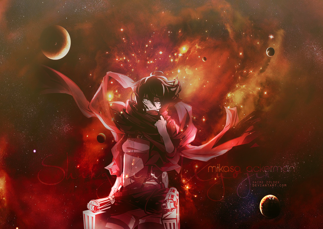 Mikasa Ackerman Wallpaper By Samizoldek On Deviantart