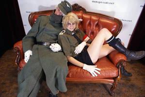 Hellsing - Millenium couch pt1 by Fenix-414