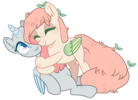 [collab] you're a good friend by m-00nlight