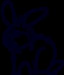 rabbit free base