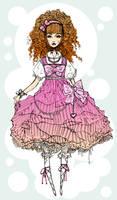 Sweet Lolita doodle by mildtarantula